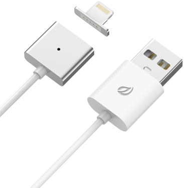 ORIGINAL WSKEN SMART METAL MAGNETIC USB CABLE FOR LIGHTNING IPHONE IPAD