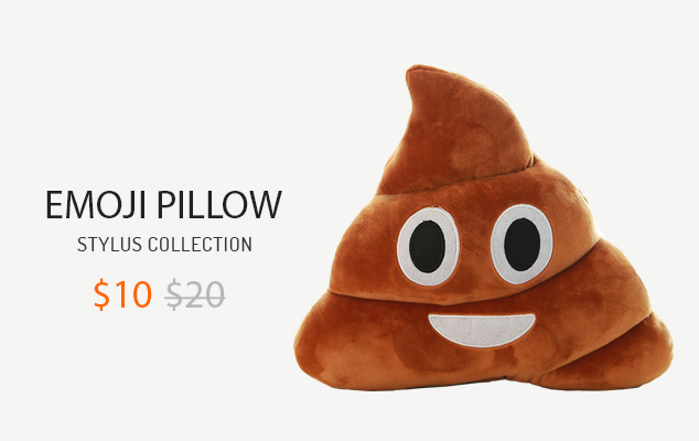 MINI EMOJI PILLOW CUSHION POOP SHAPE PILLOW DOLL TOY THROW PILLOW AMUSING EMOTION POO